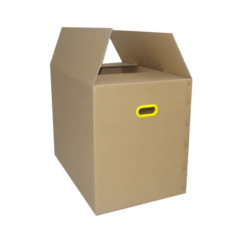 Moving Box With Plastic Oval Shape Handle