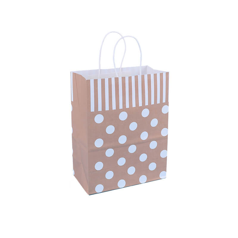 Paper Bag With Paper Made Handle