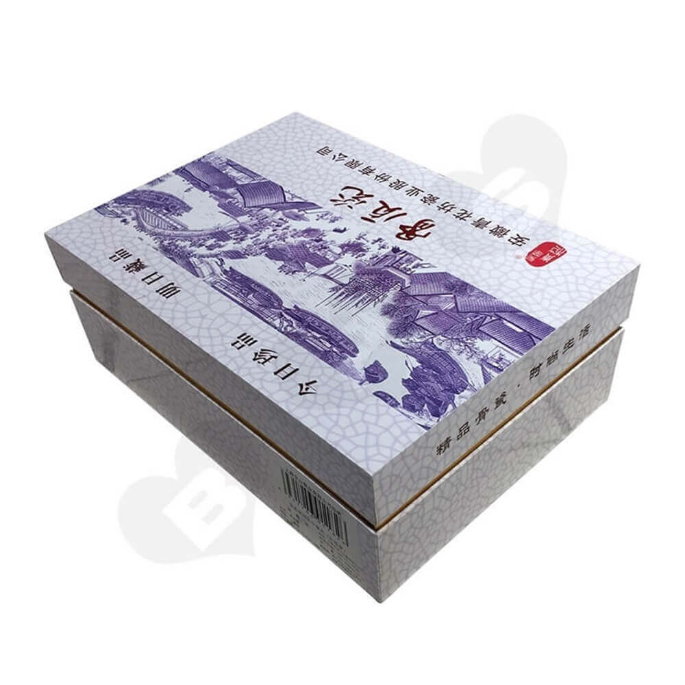 Porcelain Set Packaging Box Sideview Five
