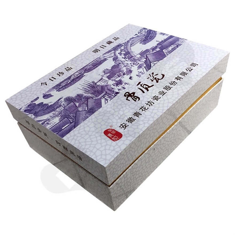Porcelain Set Packaging Box Sideview Three