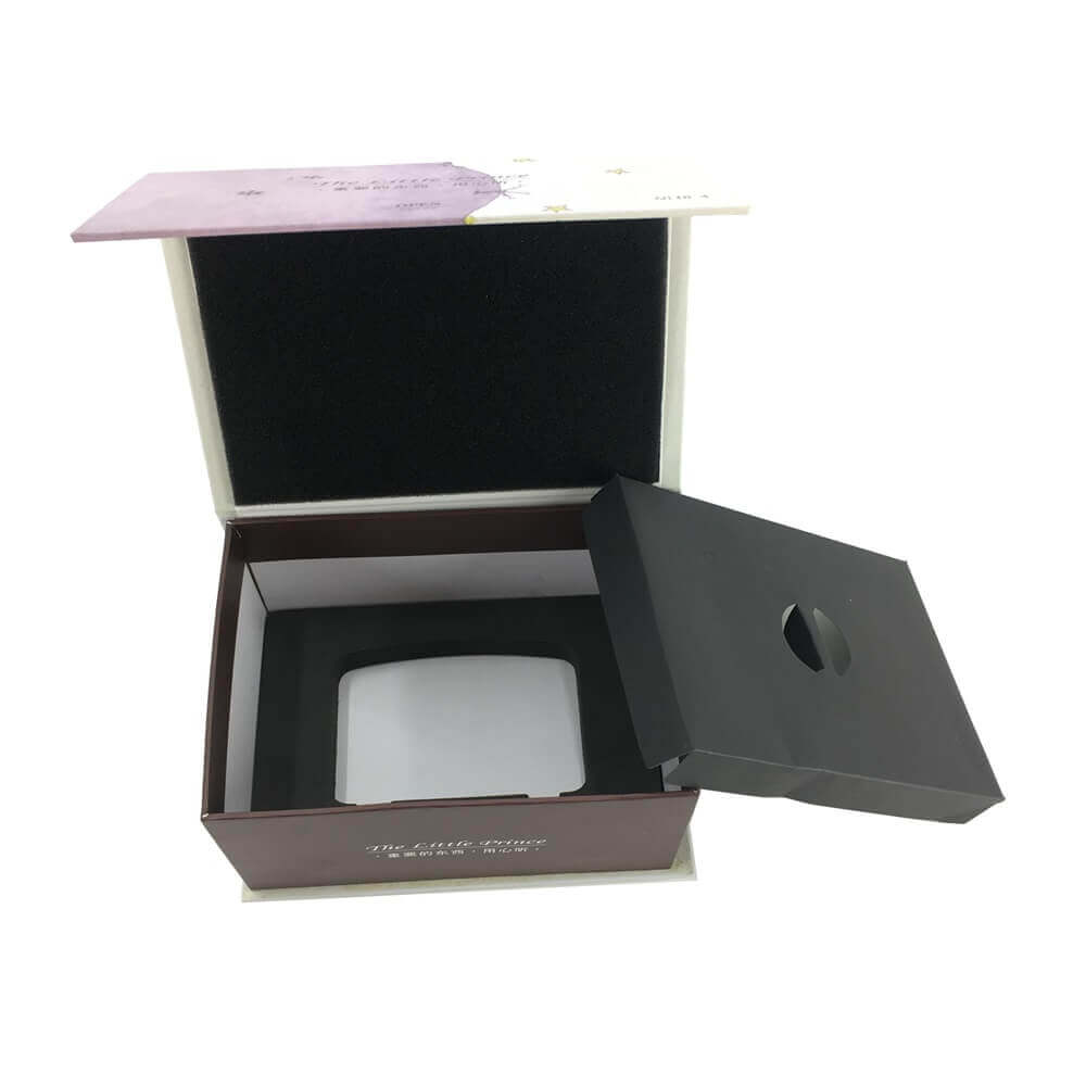 Portable Speaker Rigid Box Packaging sideview five