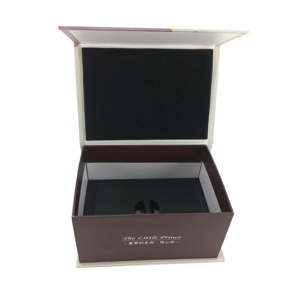 Portable Speaker Rigid Box Packaging sideview four