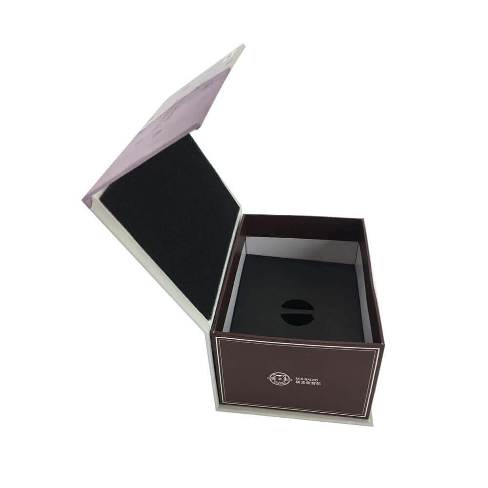 Portable Speaker Rigid Box Packaging sideview six