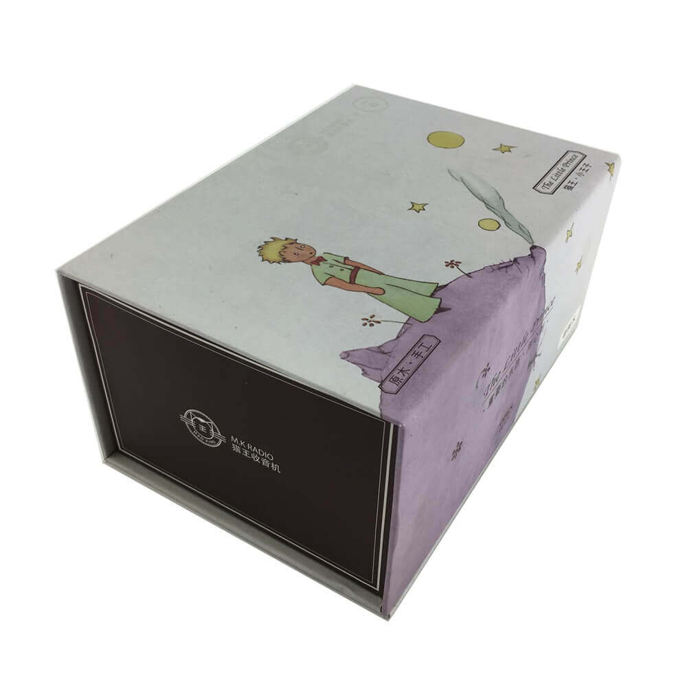 Portable Speaker Rigid Box Packaging sideview two