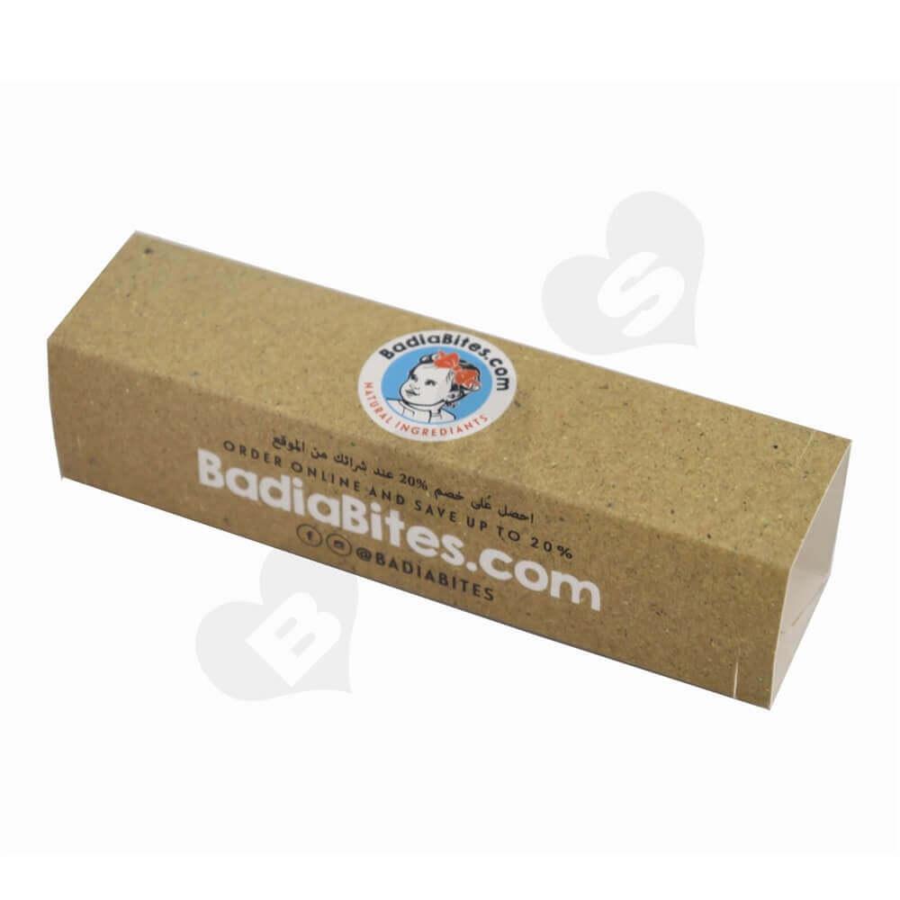 Printed Food Box Sleeve side view three