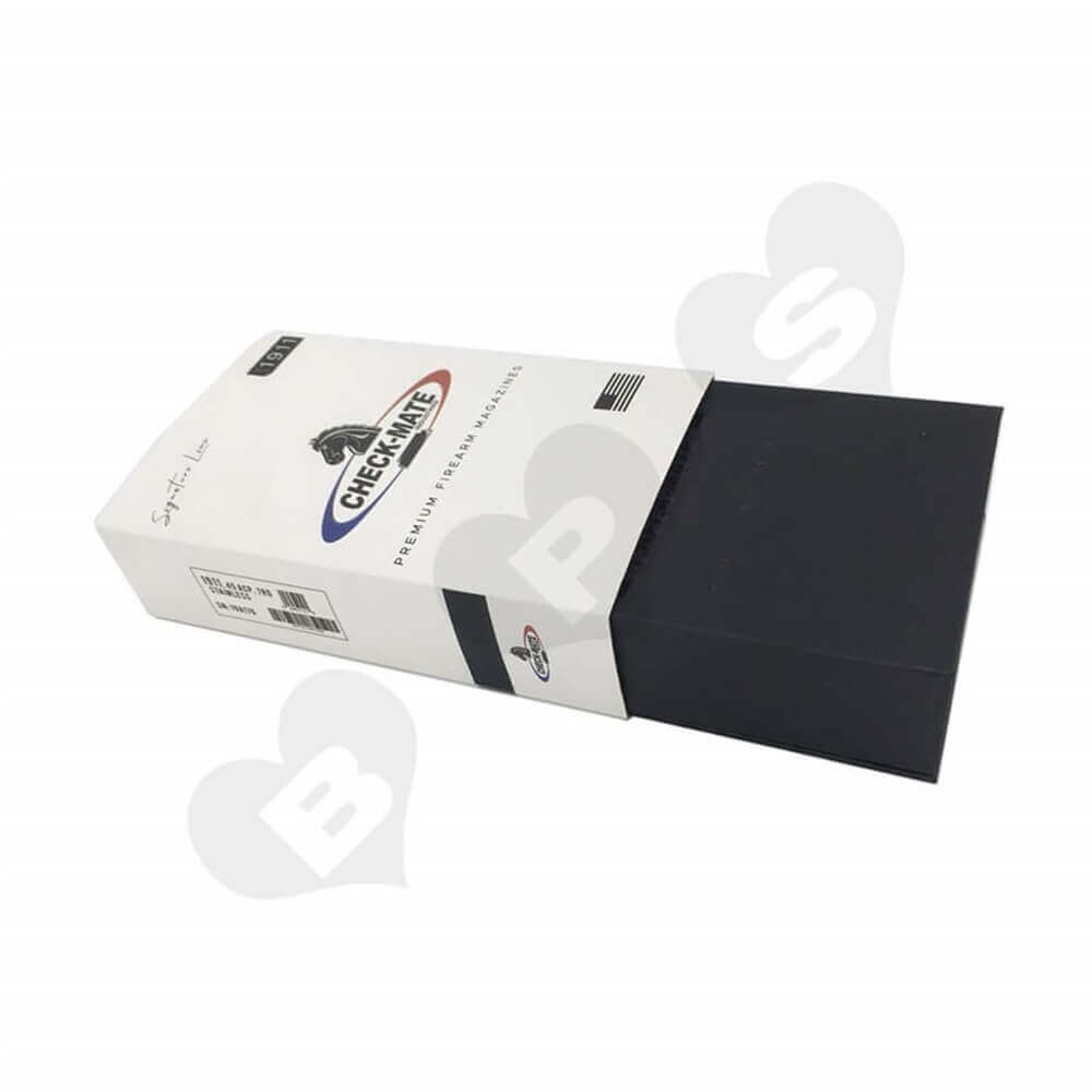 Printed Magazine Packaging Box with Sleeve Sideview Seven
