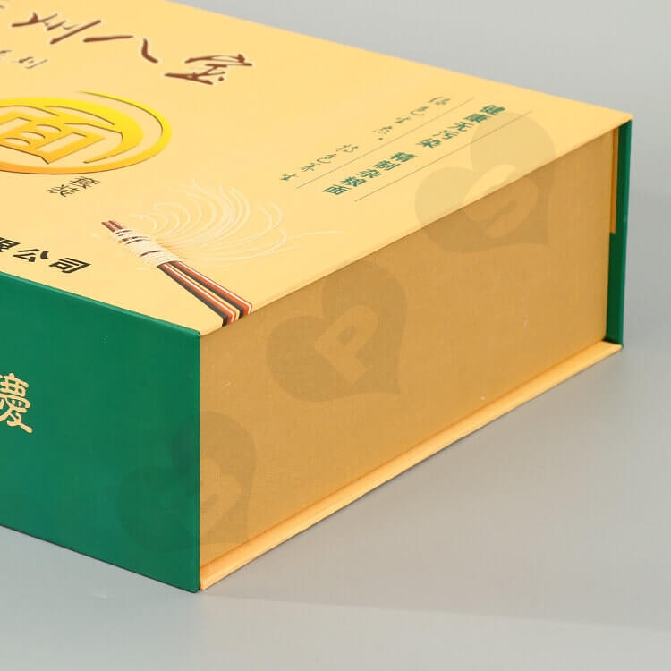 Printed Magnetic Closure Box For Noodles side view five