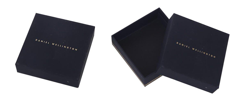 Printed cardboard telescope packaging box for belt packing