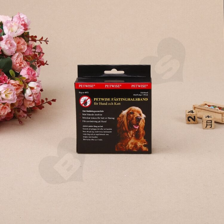 Retail Box For Pet Fasting Halsband side view six