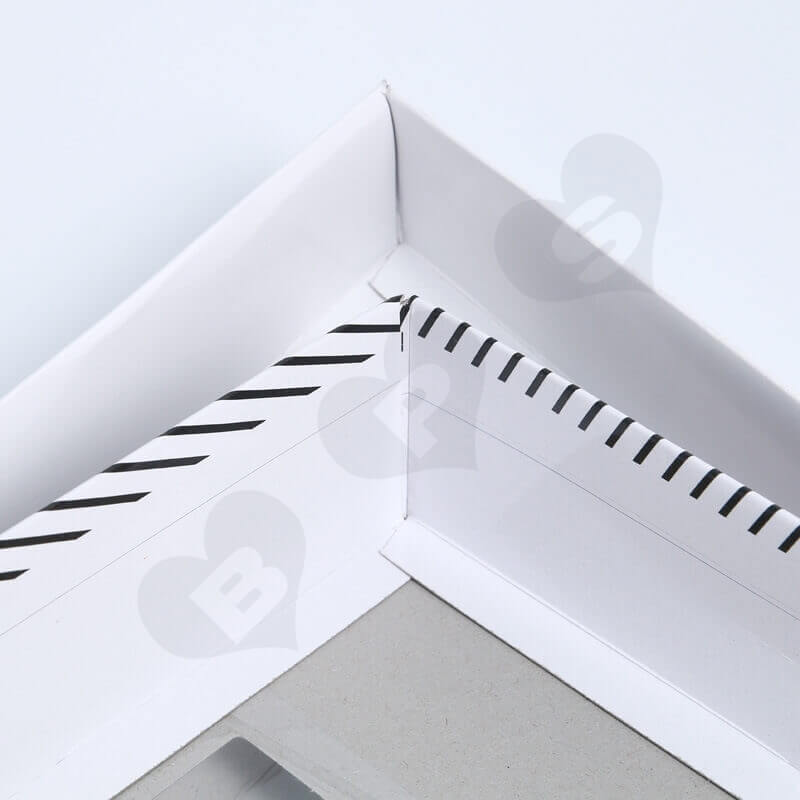 Retail Cardboard Printed Box For Tie side view two