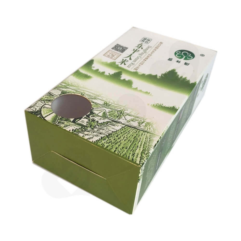 Rice Packaging Box Window Patching (3)