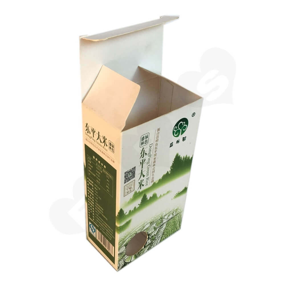 Rice Packaging Box Window Patching (5)