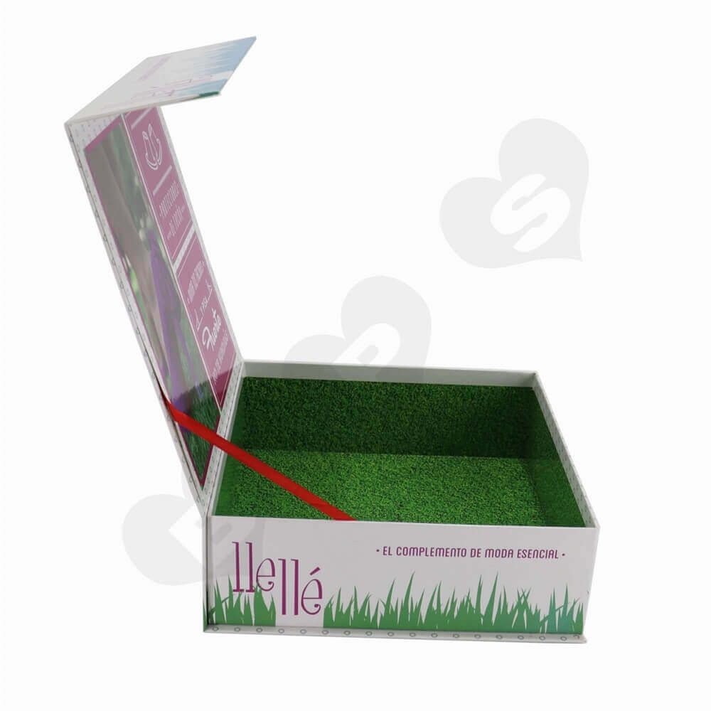 Rigid Cardboard High Heels Box side view two