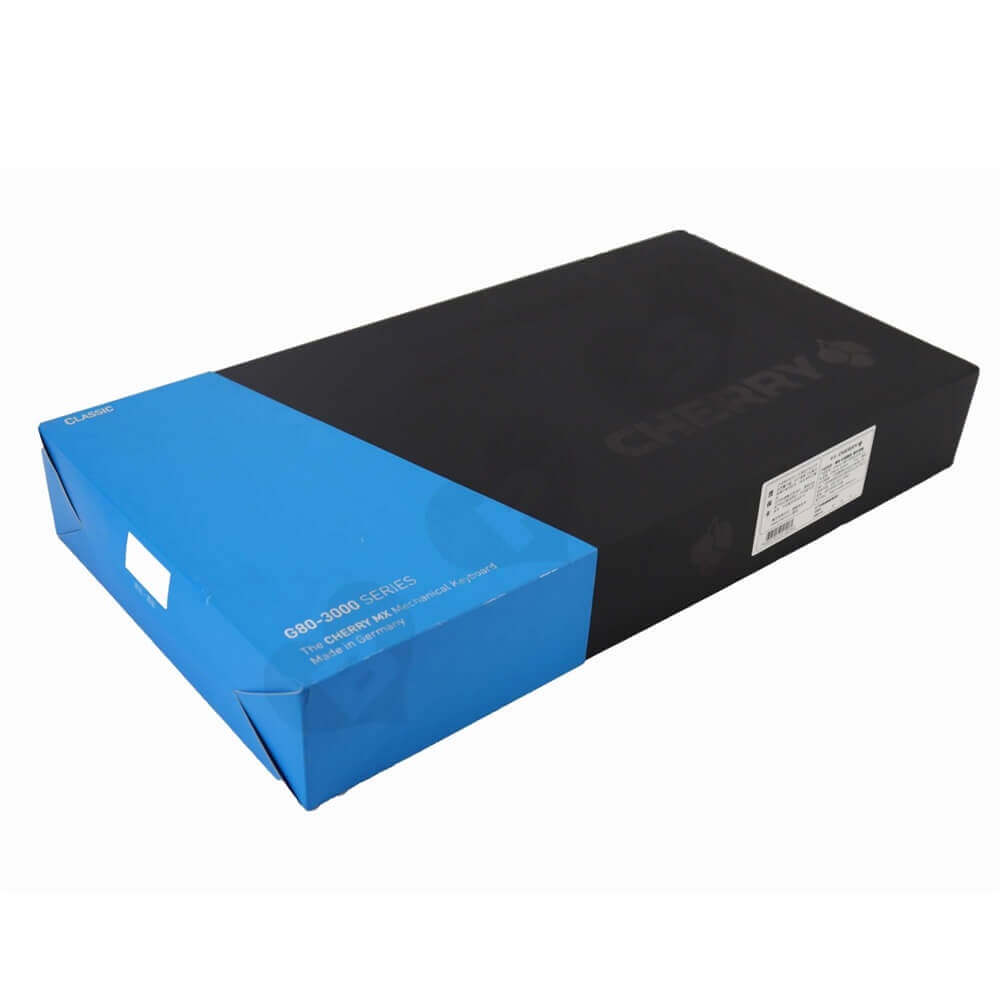 Rigid Cardboard Keyboard Packaging Boxes With Sleeve Side View One