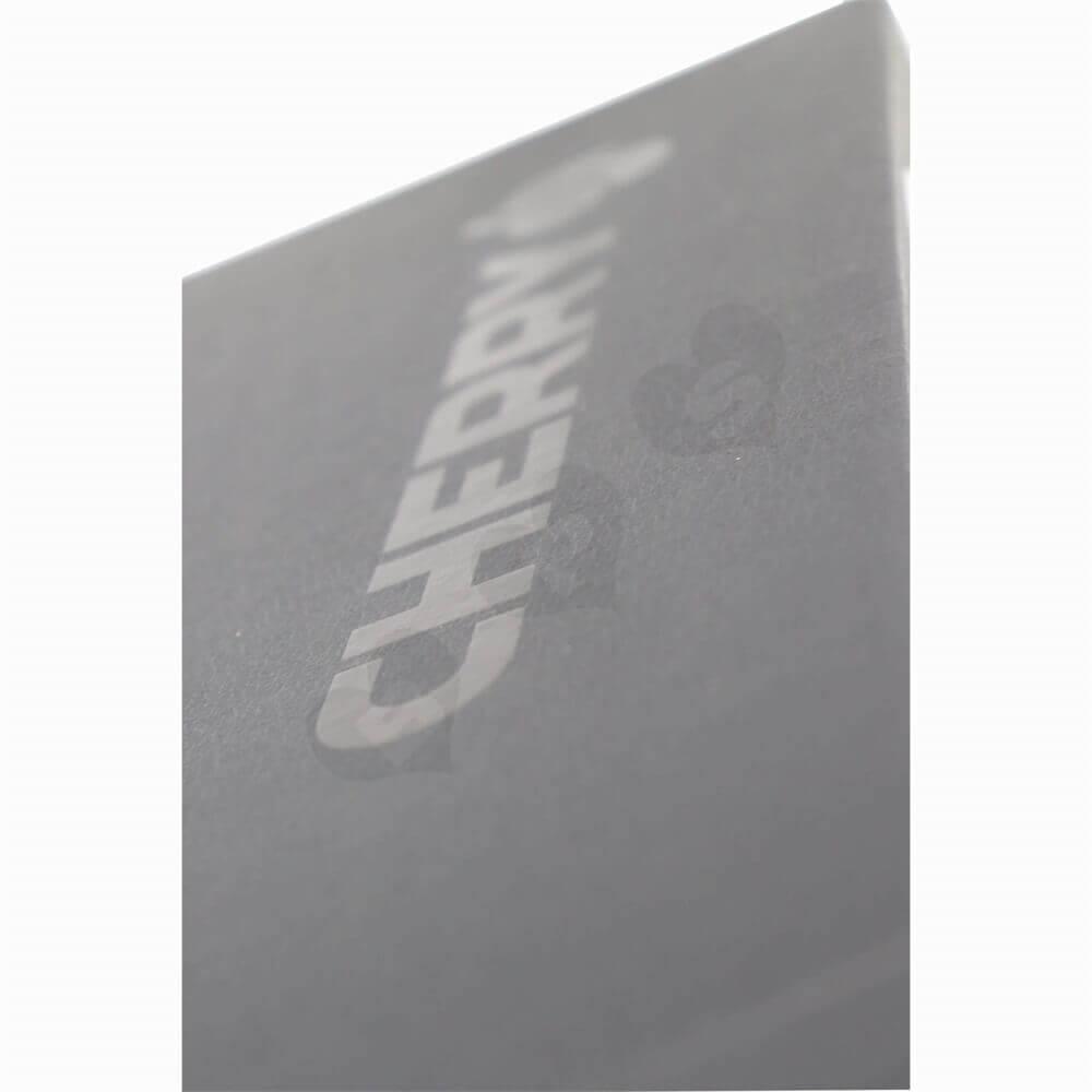 Rigid Cardboard Keyboard Packaging Boxes With Sleeve Side View Three