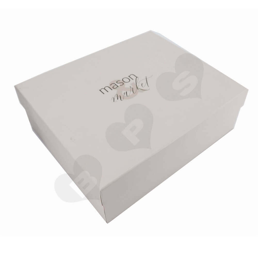 Rigid Hair Extension Packaging Boxes Side View Three