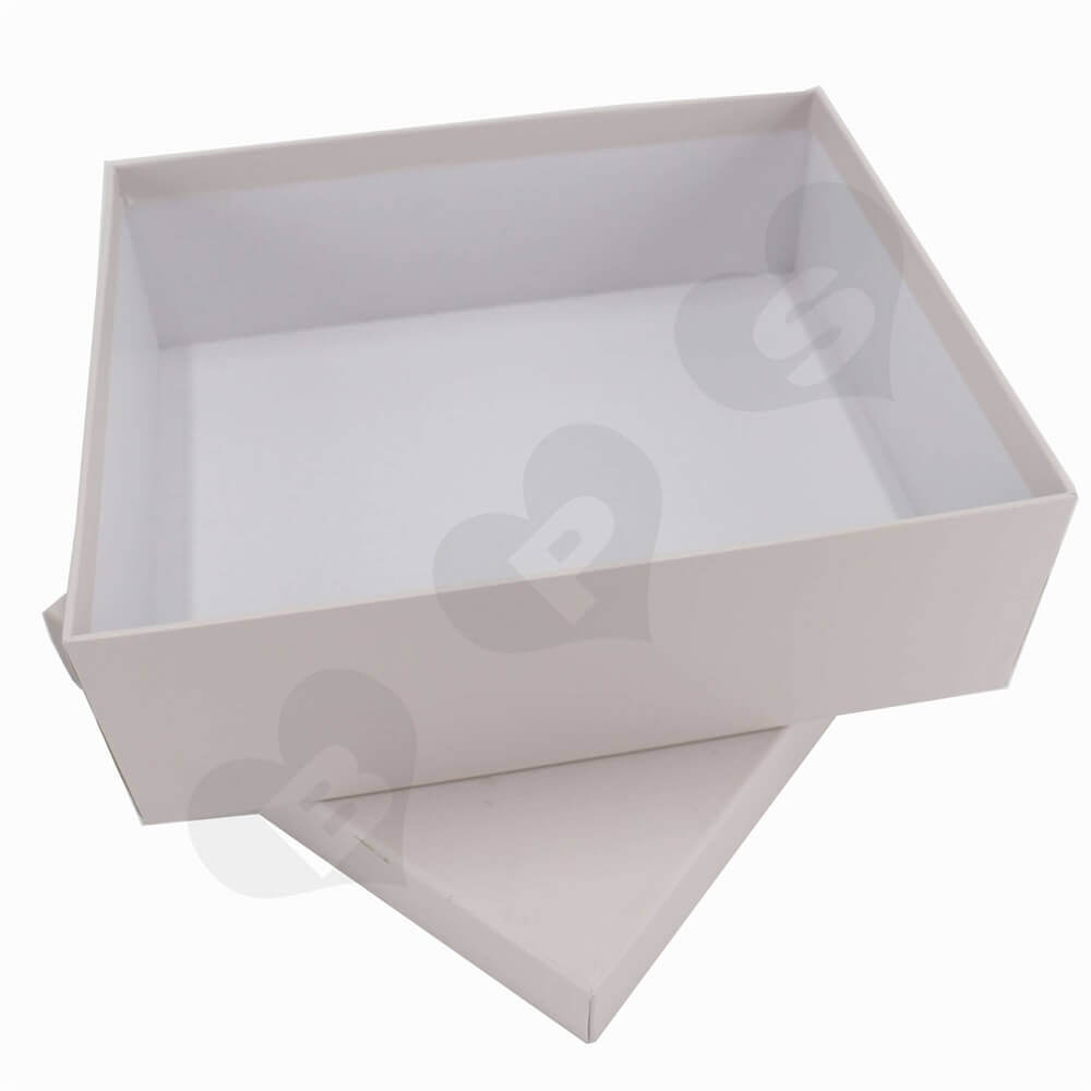 Rigid Hair Extension Packaging Boxes Side View Two