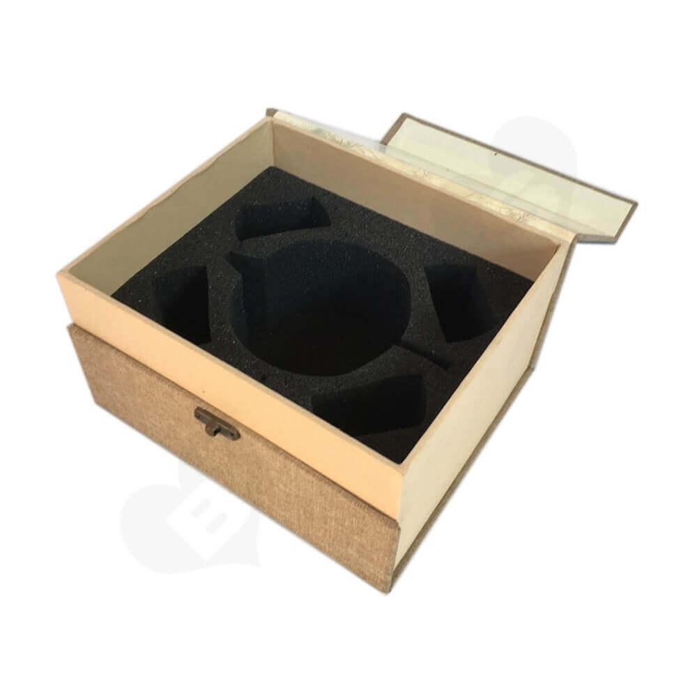 Rigid Tea Packaging Box sideview four