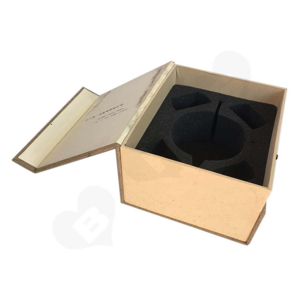 Rigid Tea Packaging Box sideview three