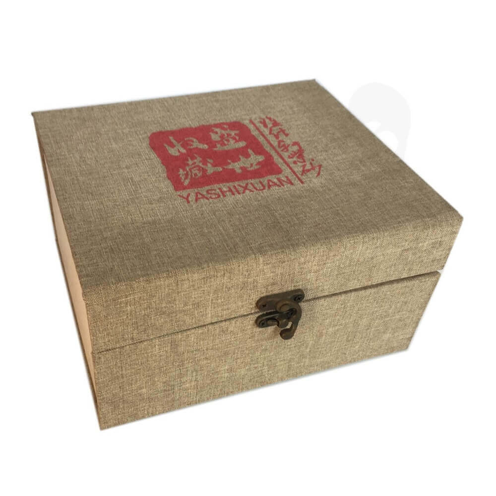 Rigid Tea Packaging Box sideview two