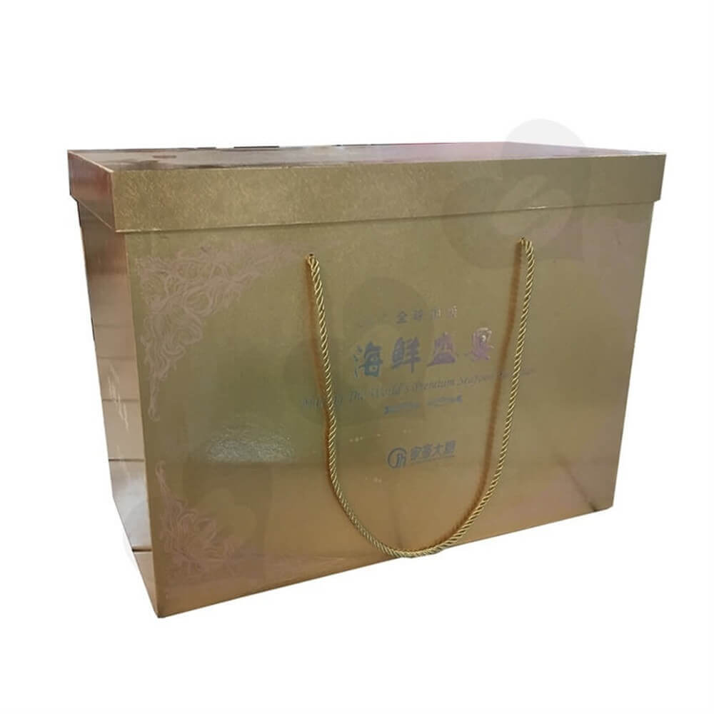Seafood Packaging Box Side View Six