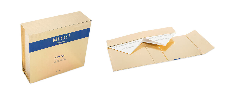 Skin care gift set packaging box