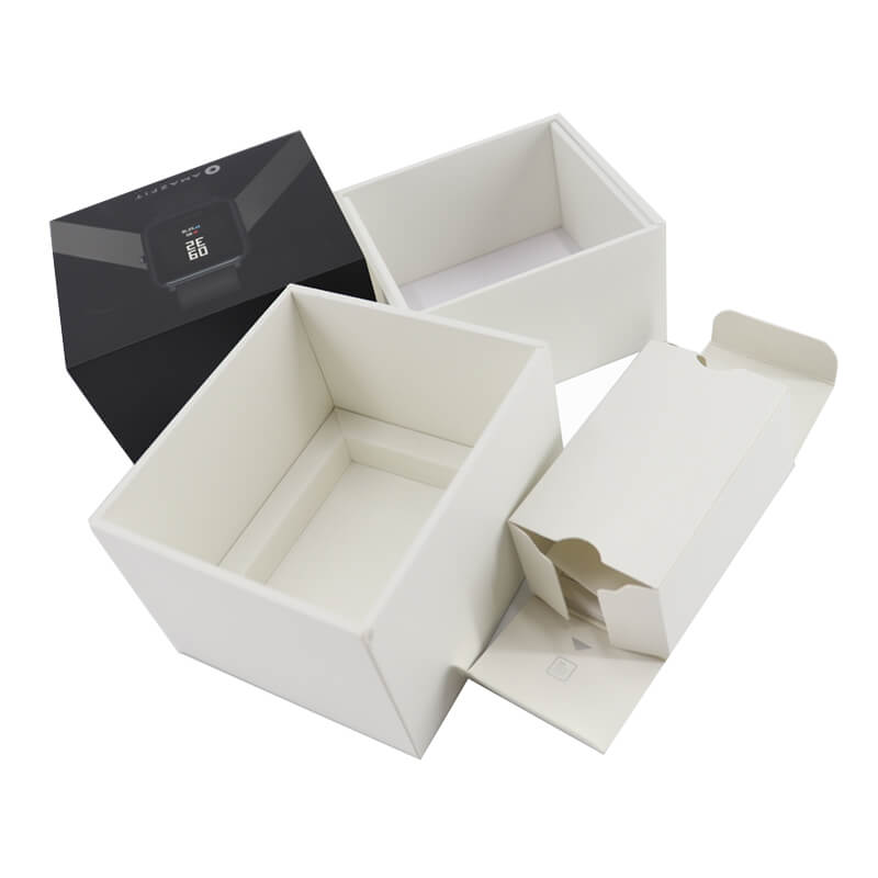 Smart Watch Packaging Box With Cardboard Insert