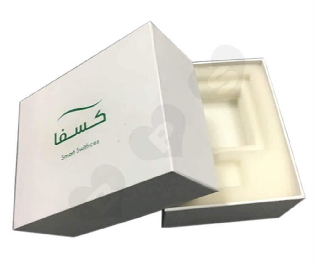 Smartphone Packaging Box Side View One
