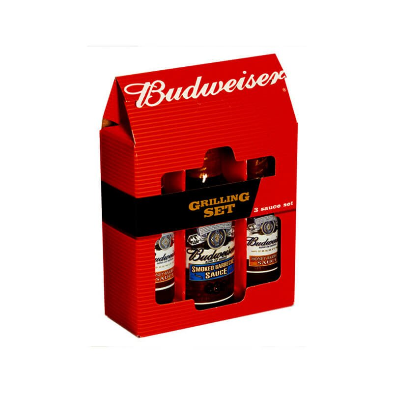 Special gable top for Budweiser grill set
