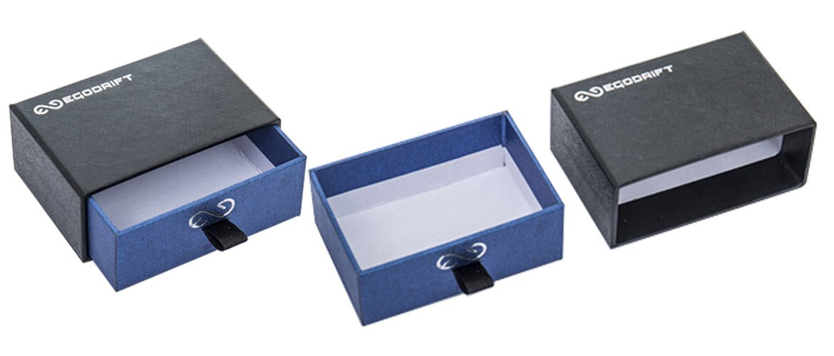 Speciality paper coated drawer gift packaging box