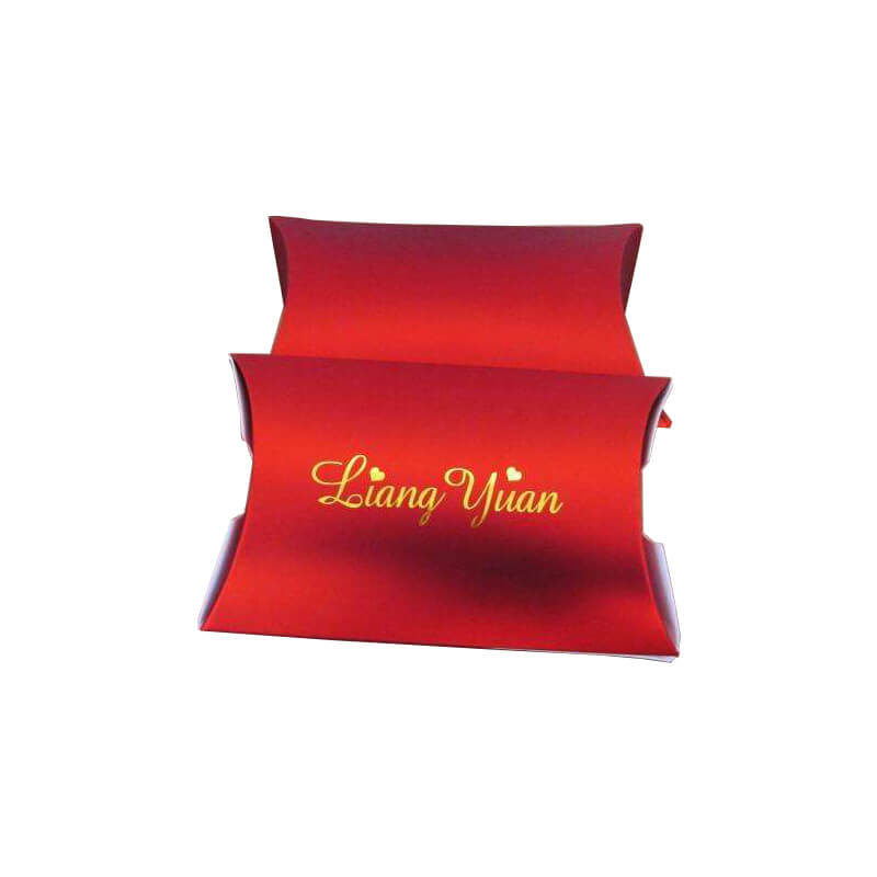 Specialty paper pillow style box