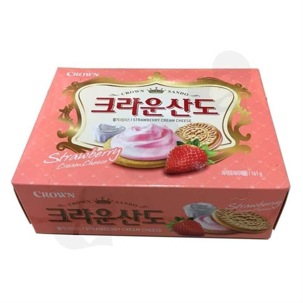 Strawberry Biscuit Packaging Box Sideview Three