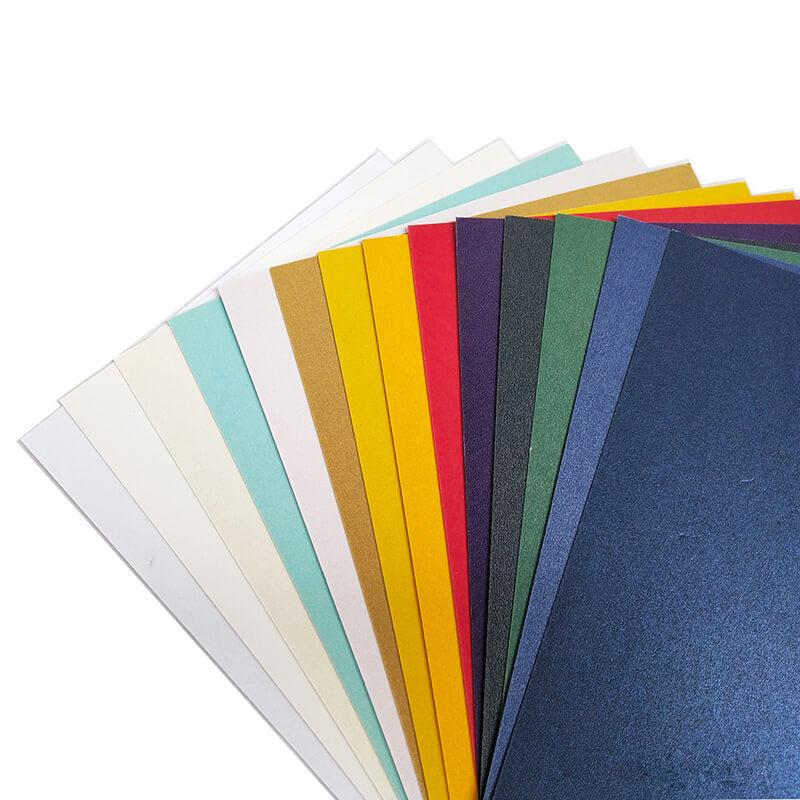 Textured cardstock paper