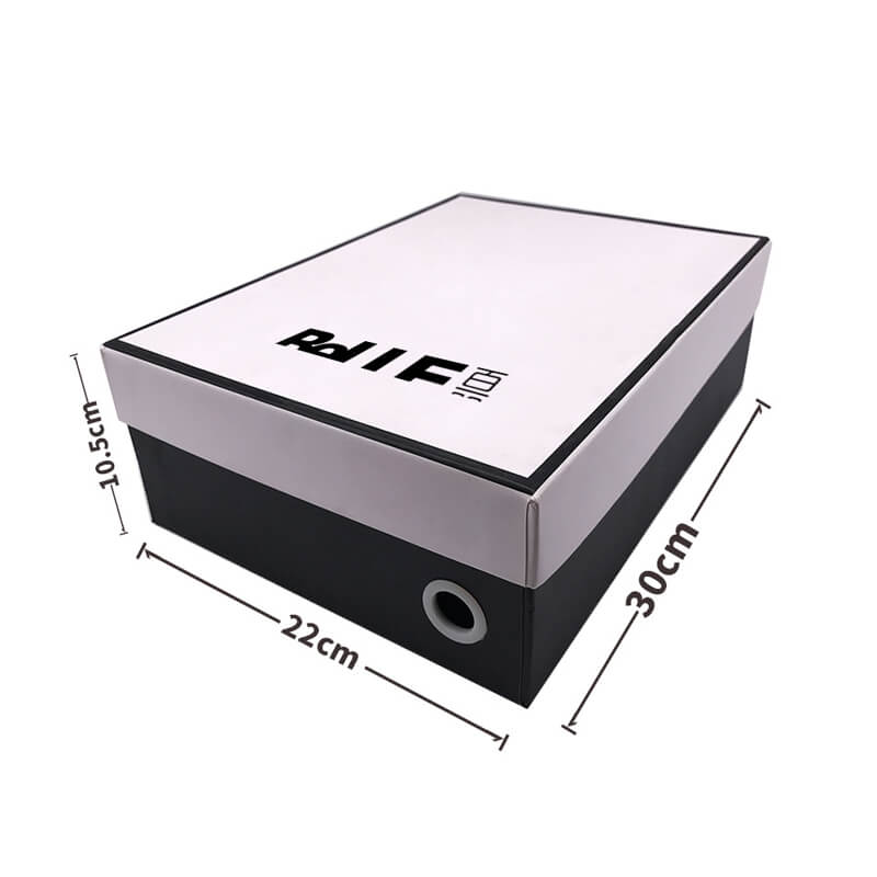 Top and Bottom Shape Shoe Packaging Box