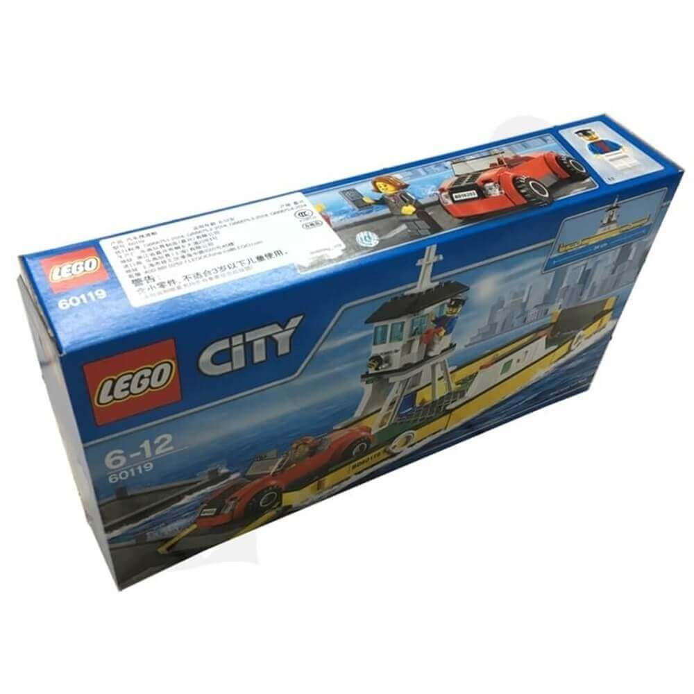 Toy Ship Retail Packaging Box Sideview One