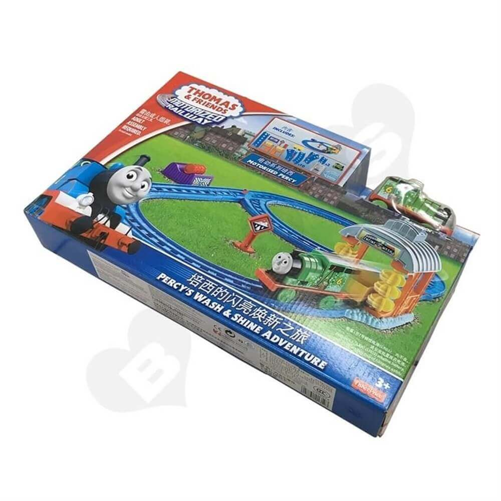 Toy Train Packaging Box Sideview Five