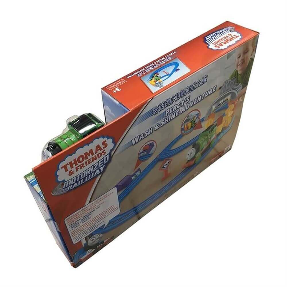 Toy Train Packaging Box Sideview Four