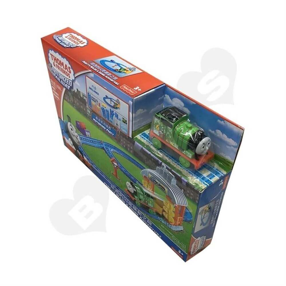 Toy Train Packaging Box Sideview One