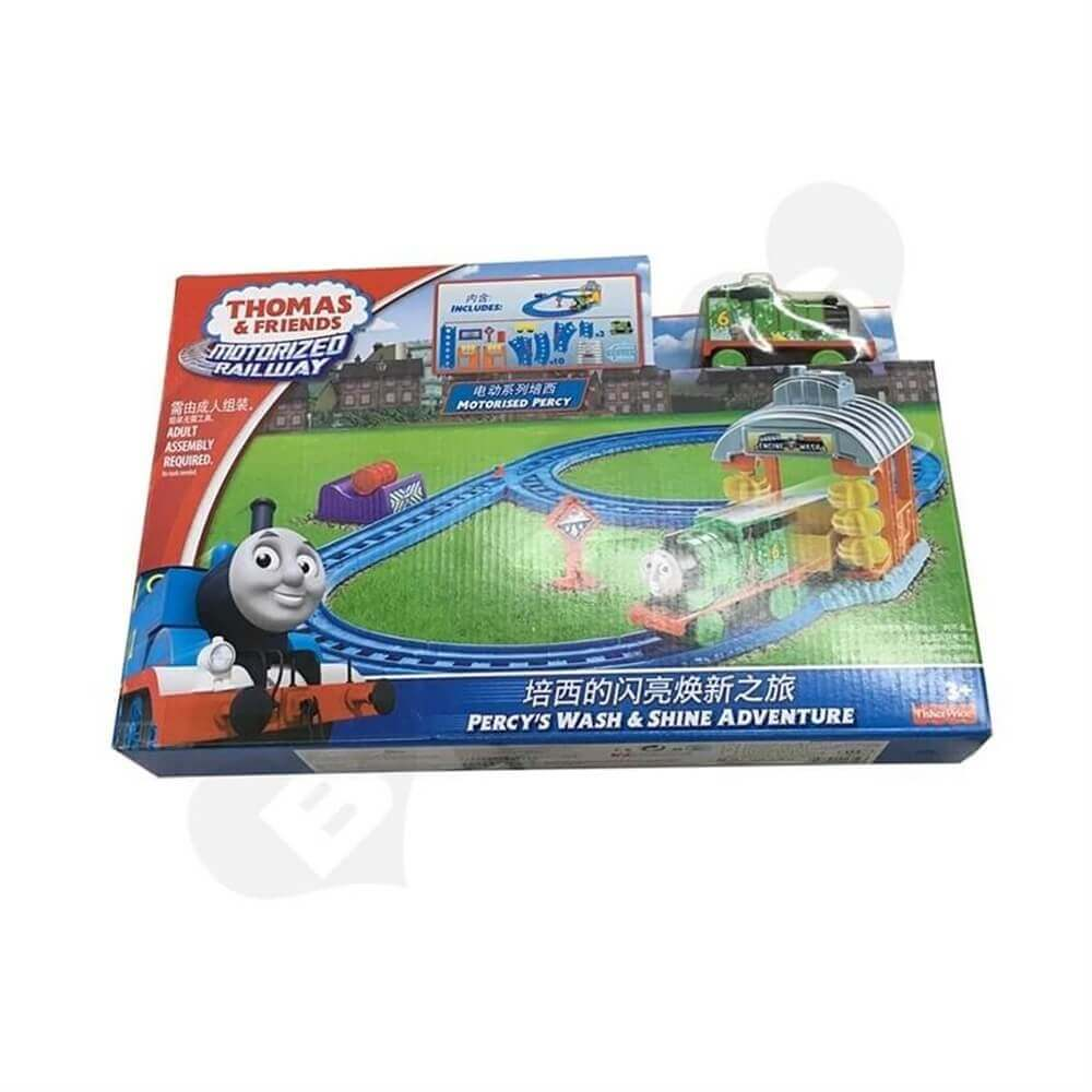 Toy Train Packaging Box Sideview Seven