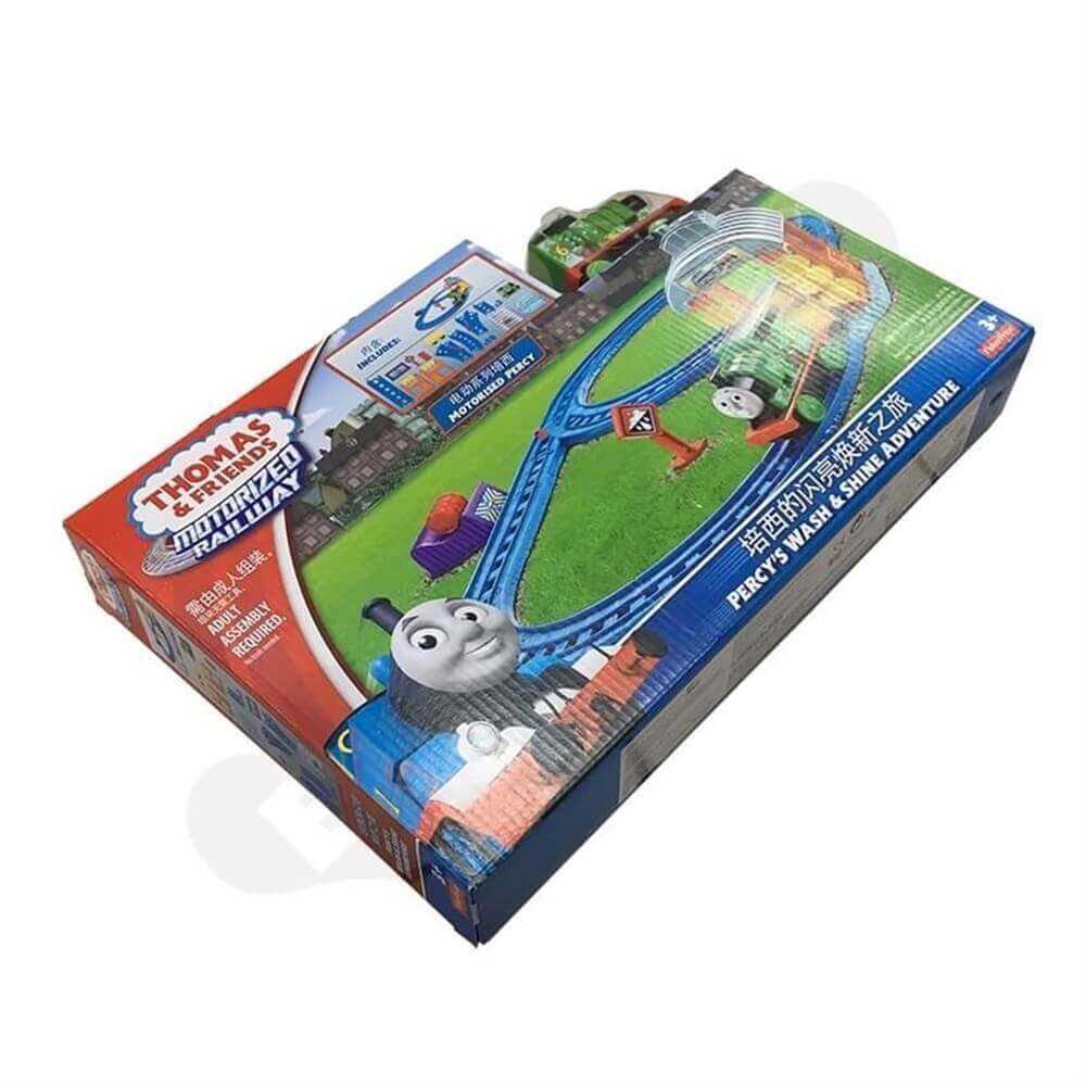 Toy Train Packaging Box Sideview Six