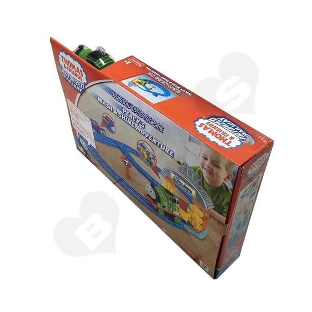 Toy Train Packaging Box Sideview Three