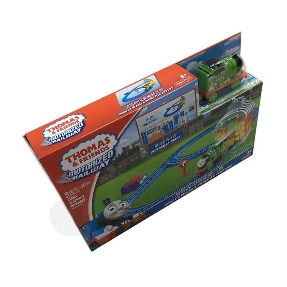 Toy Train Packaging Box Sideview Two