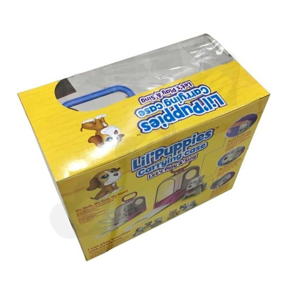 Toys Packaging With Plastic Window Sideview Five