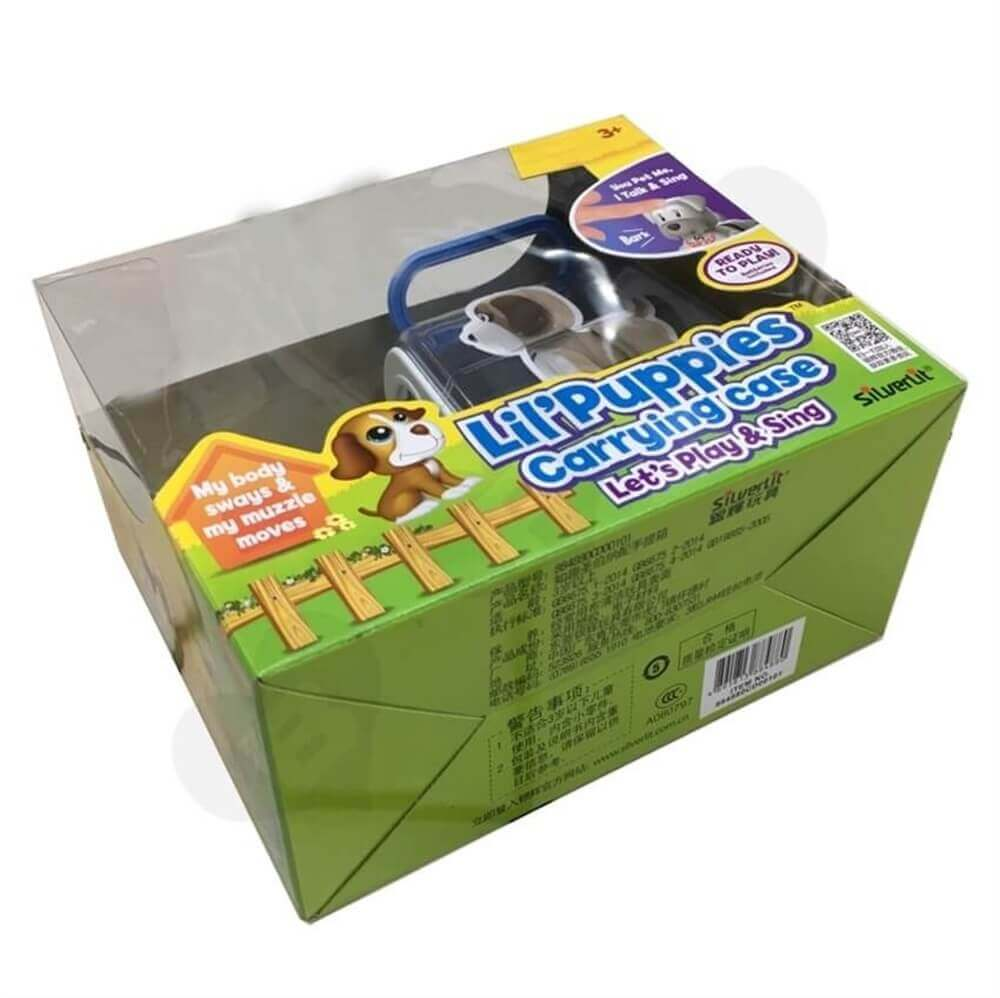 Toys Packaging With Plastic Window Sideview Three