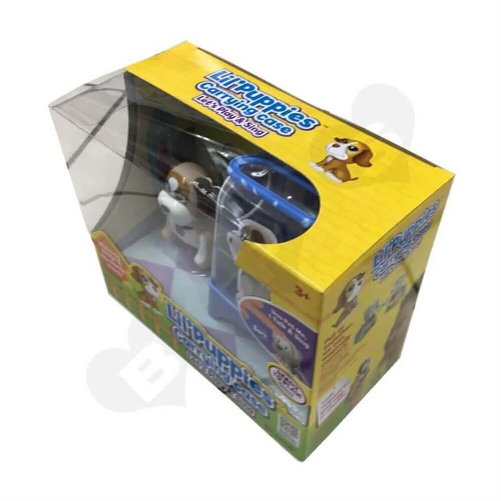 Toys Packaging Box With Plastic Window Sideview Two