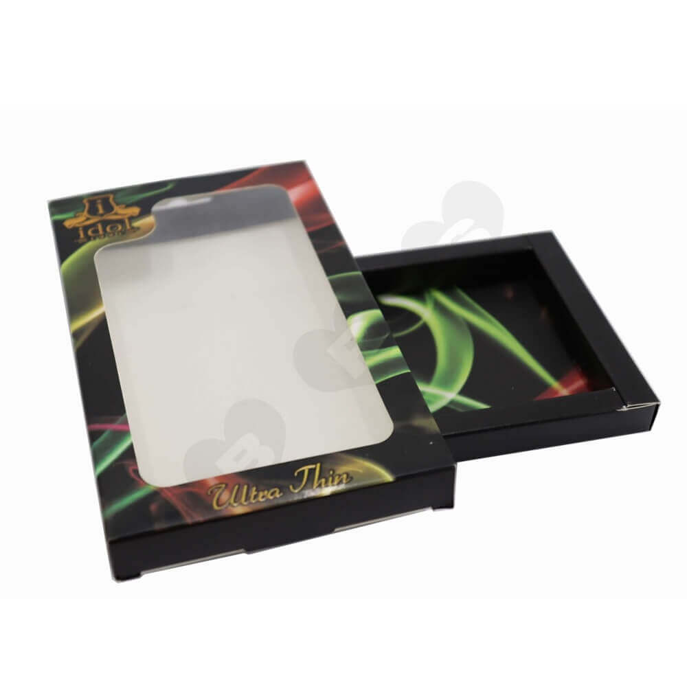Water Proof Phone Case Packaging Box side view one