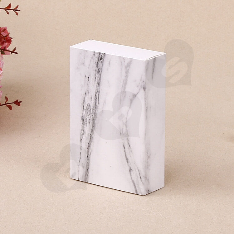 White Cardboard Drawer Box For Marble side view five