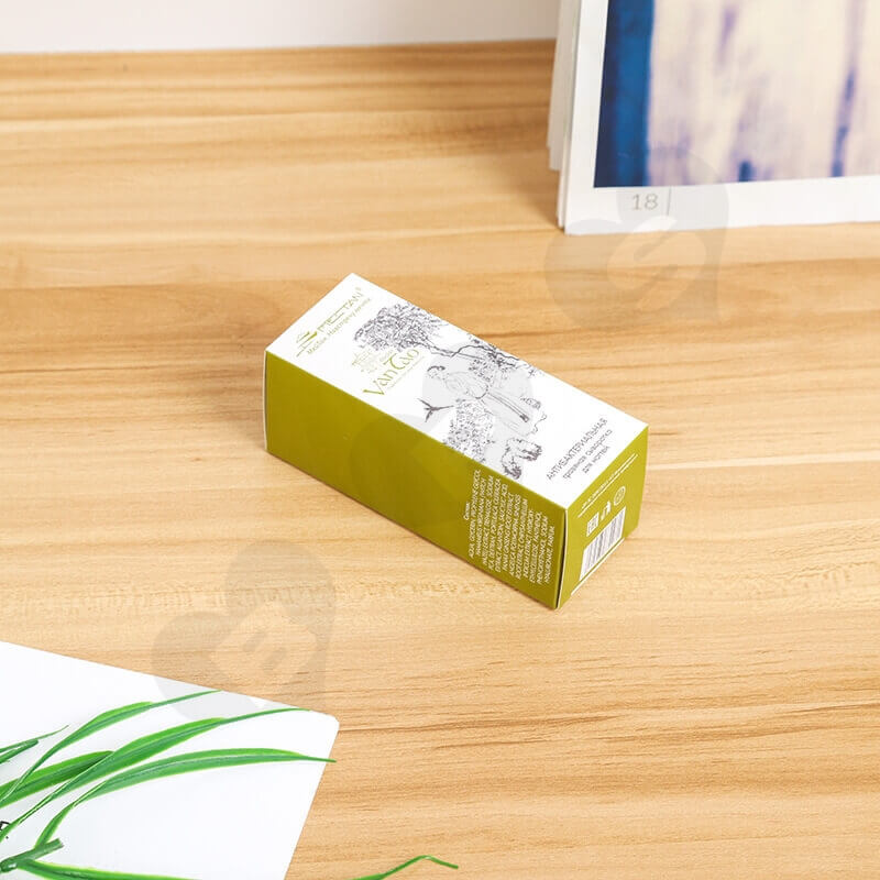 White Cardboard Tuck End Box For Foundation Makeup side view five