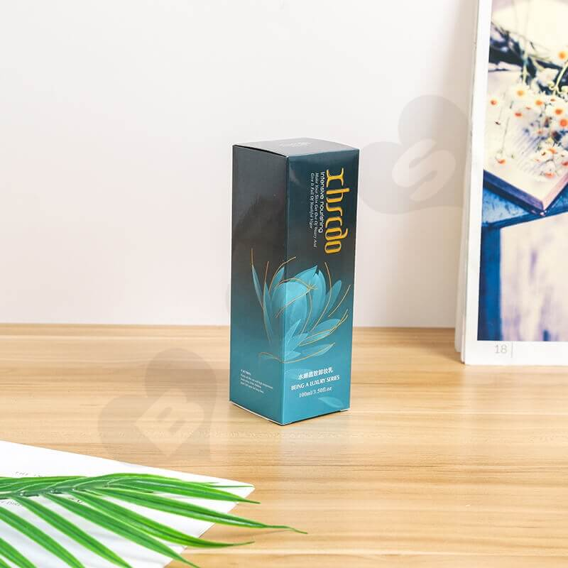 Wholesale Cardboard Box For Makeup Remover side view two