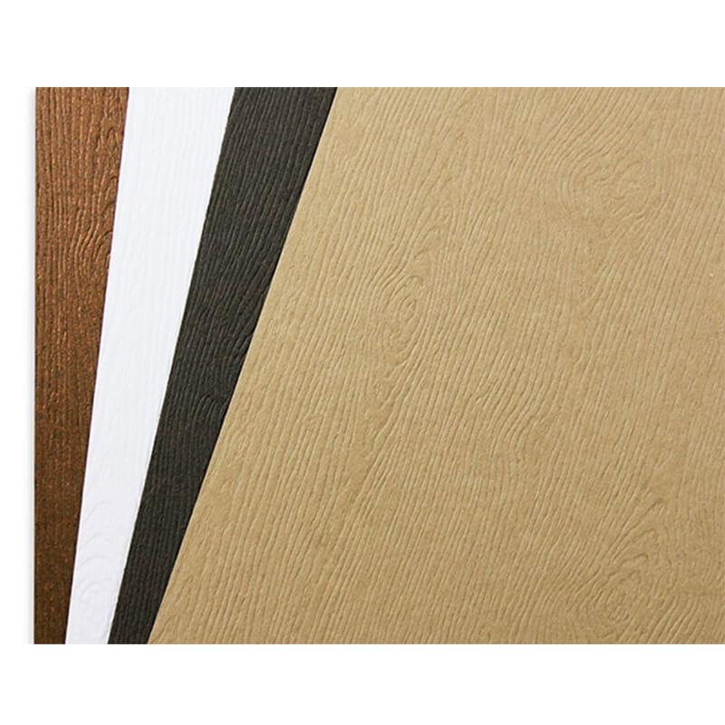 Woodgrain cardstock paper
